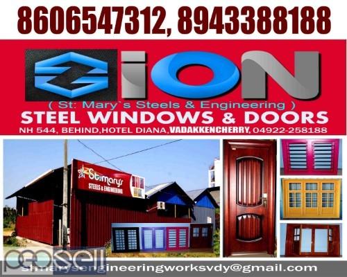 ZION STEEL WINDOWS & DOORS VADAKKENCHERRY-Steel Doors Suppliers VADAKKENCHERRY 0