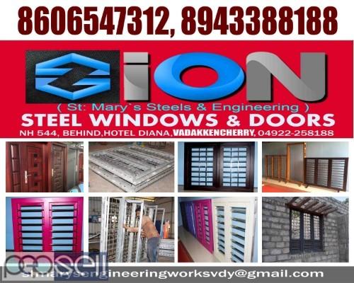 ZION STEEL WINDOWS & DOORS VADAKKENCHERRY-Steel Doors Suppliers VADAKKENCHERRY 1