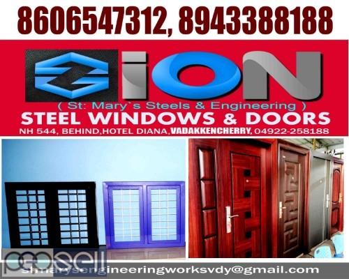 ZION STEEL WINDOWS & DOORS VADAKKENCHERRY-Steel Doors Suppliers VADAKKENCHERRY 2