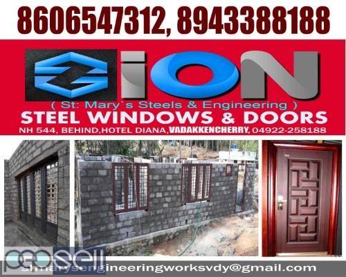 ZION STEEL WINDOWS & DOORS VADAKKENCHERRY-Steel Doors Suppliers VADAKKENCHERRY 3