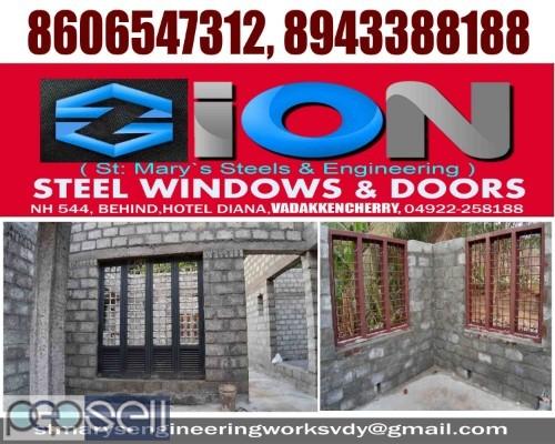 ZION STEEL WINDOWS & DOORS VADAKKENCHERRY-Steel Doors Suppliers VADAKKENCHERRY 4