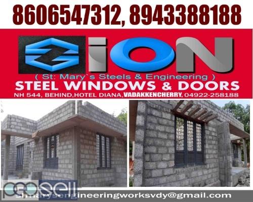 ZION STEEL WINDOWS & DOORS VADAKKENCHERRY-Steel Doors Suppliers VADAKKENCHERRY 5
