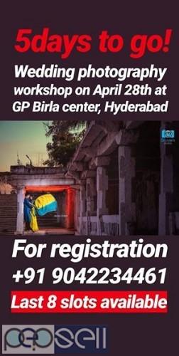 Wedding photography workshop at GP Birla center, Hyderabad 0