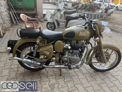 Royal Enfield 500CC 2014 model at Ahmednagar 1