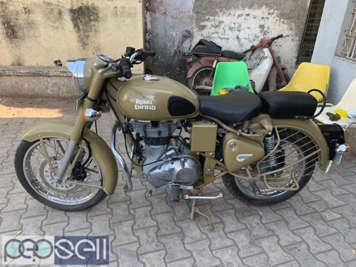 Royal Enfield 500CC 2014 model at Ahmednagar 2