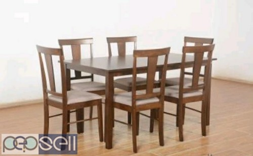 Unboxed Farso solid six seater Dining table 0