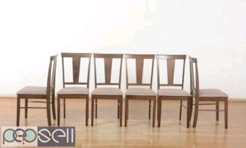 Unboxed Farso solid six seater Dining table 1