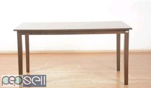 Unboxed Farso solid six seater Dining table 2