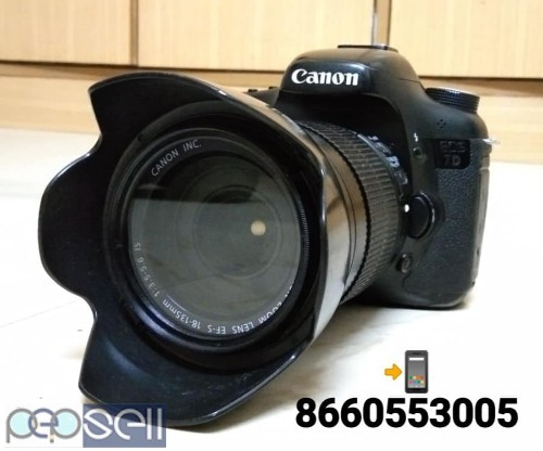 Canon 7D & 18-135 Lens I Use Film Movie Shooting Propose Only 0