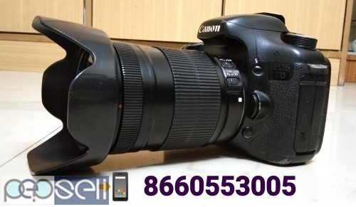 Canon 7D & 18-135 Lens I Use Film Movie Shooting Propose Only 1