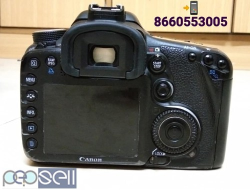 Canon 7D & 18-135 Lens I Use Film Movie Shooting Propose Only 2