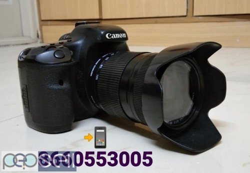 Canon 7D & 18-135 Lens I Use Film Movie Shooting Propose Only 3