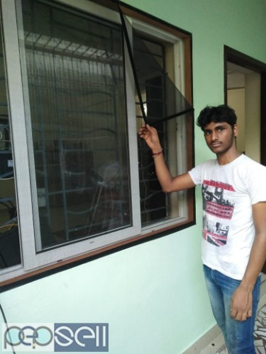 MOSQUITO WINDOW NET INSTAL AT YOUR HOME 1