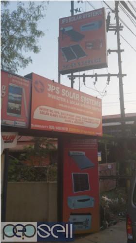 J.P.S Solar System Luminous Solar Inverter Dealers Kottayam,Changanacherry,Pala,Kumarakom,Samkranthy 1