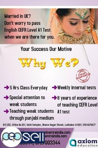Ielts life skills esol a1 a2 b1 test centre raikot,phillaur 1