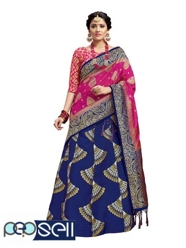 Best Blue Lehenga Designs Available At Mirraw | Shop Now 2