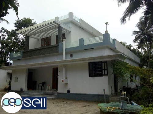 10 cent land 4 bedroom new house for sale in koprapura, kayamkulam. Alapuzha district.  0