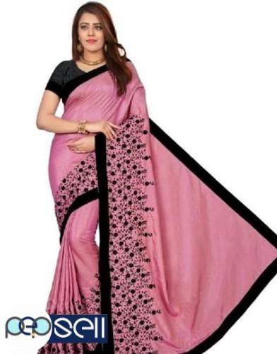 Sana Silk heavy Embroidered Sarees for sale 0