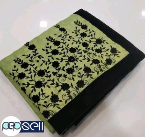 Sana Silk heavy Embroidered Sarees for sale 4