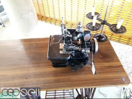Over locking sewing machine for sale in Aluva 1