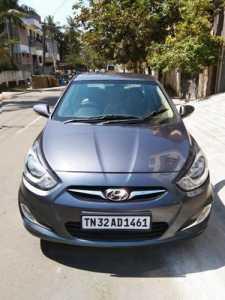 Verna fludic 1.6 sx petrol at Chennai