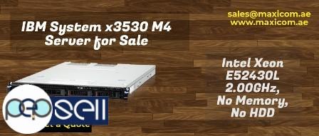 IBM System x3530 M4 Intel Xeon E5-2430L for Sale in UAE 0