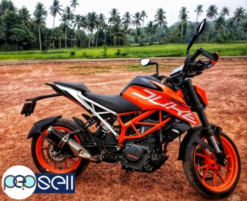 KTM DUKE 390 ABS 2018 Model for sale 4