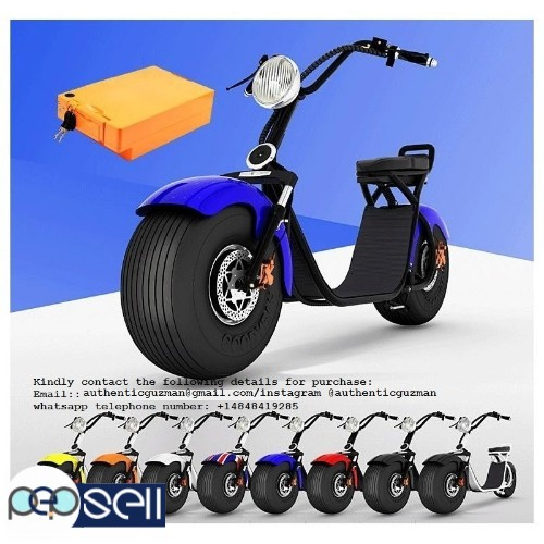 For sale Citycoco 2000w Electric Scooter Big Wheel 0
