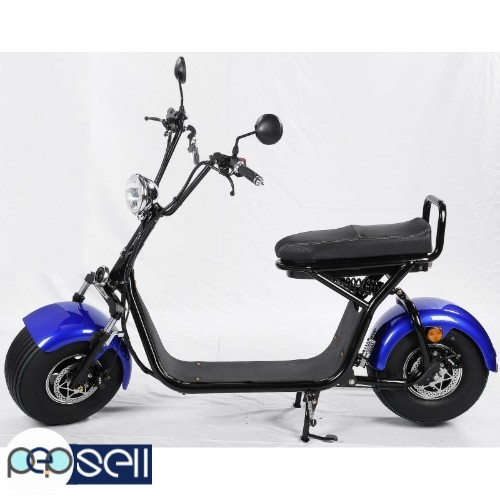 For sale Citycoco 2000w Electric Scooter Big Wheel 1