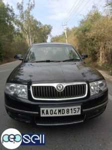 Skoda Superb 2007 model petrol car for sale