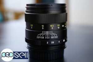 Mitakon 85mm f 2 manual focus Tele Lens