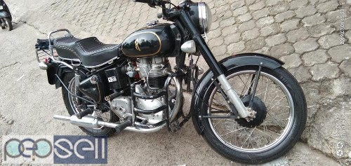 Royal Enfield 1953, military NEW INSURE, New seat 2