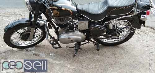 Royal Enfield 1953, military NEW INSURE, New seat 3