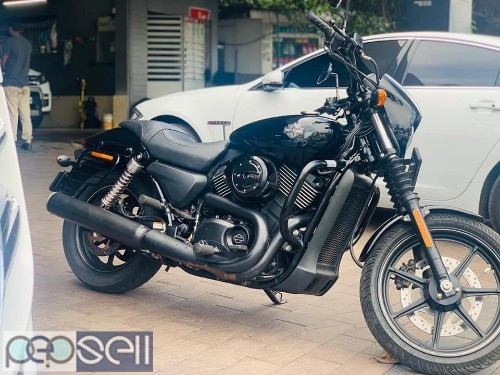 Hardly Davidson 750 street  2014 Model for sale 3