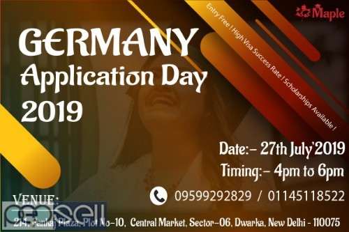 Germany Application Day - 27th July 19 0