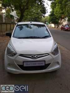 Hyundai eon delite+ 2012 model cng for sale