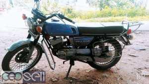 YAMAHA RX 100 model 1986 new insurance at Kottarakkara
