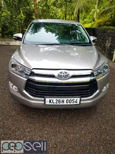 2016 Innova Crysta v 30000 km clean and neat car for sale 0