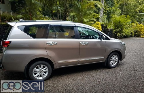 2016 Innova Crysta v 30000 km clean and neat car for sale 1