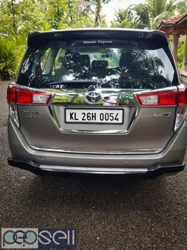 2016 Innova Crysta v 30000 km clean and neat car for sale 2