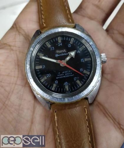 rare HMT SPORTSTAR manual winding vintage watch 0