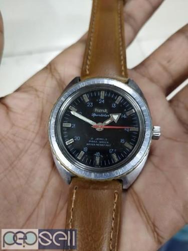 rare HMT SPORTSTAR manual winding vintage watch 1