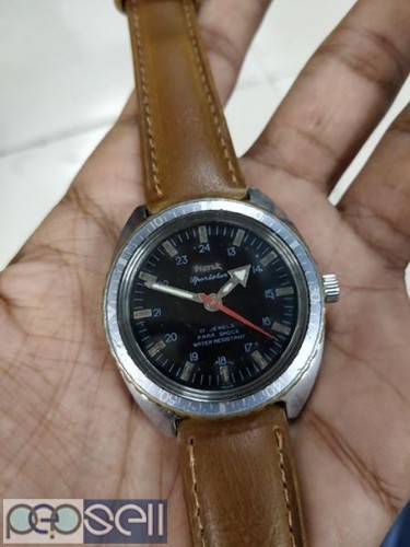 rare HMT SPORTSTAR manual winding vintage watch 3