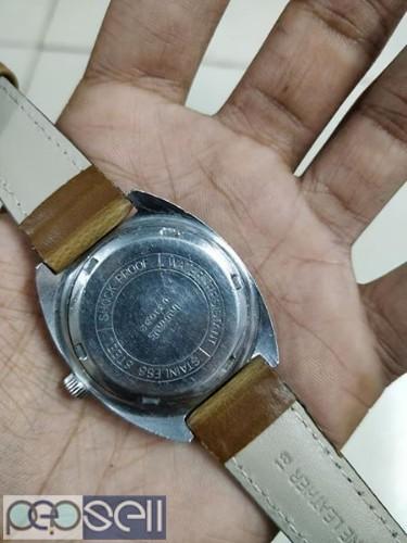 rare HMT SPORTSTAR manual winding vintage watch 4