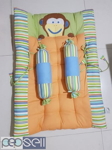 Baby hug cradle, memory foam bed and regular bed 4