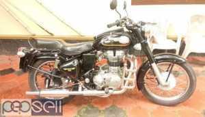 Royal Enfield at Kozhikode 2012 model sparingly used