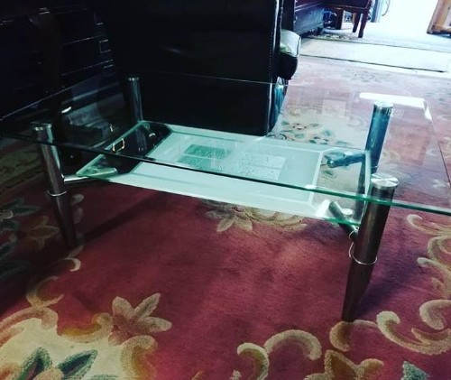 Glass Coffee Table for sale 0