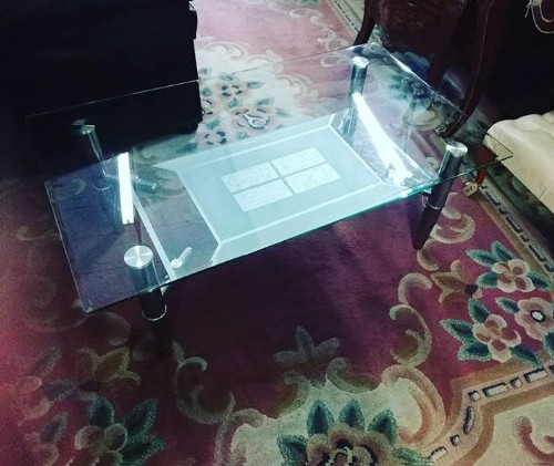 Glass Coffee Table for sale 2