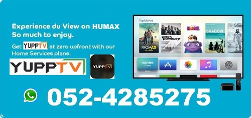 FREE YUPP TV CHANNELS WITH DU HOME INTERNET PACKAGES 0