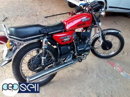 Yamaha Rx 100 model 1993 for sale at Kothamangalam 0
